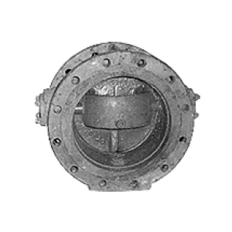 Клапан обратный 19ч24бр (19ч24р) 400*16 (ду400 ру16)