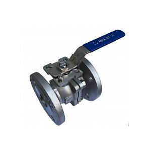 Кран шаровый   ABRA фланцевый ду15 ру40 ABRA-BV41-Q41F-DIN-2G стальной ст. 20