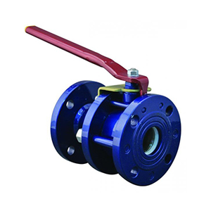 Кран шаровый   Zetkama фланцевый ду15 ру16 565A-015-C09 стальной ст. 20